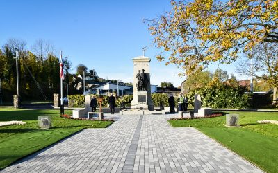 WWI soldiers names added to Larne memorial